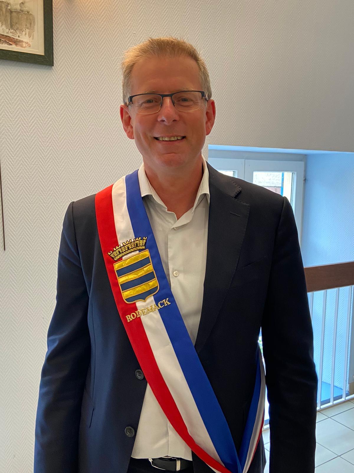 Olivier Kormann - Maire de Rodemack