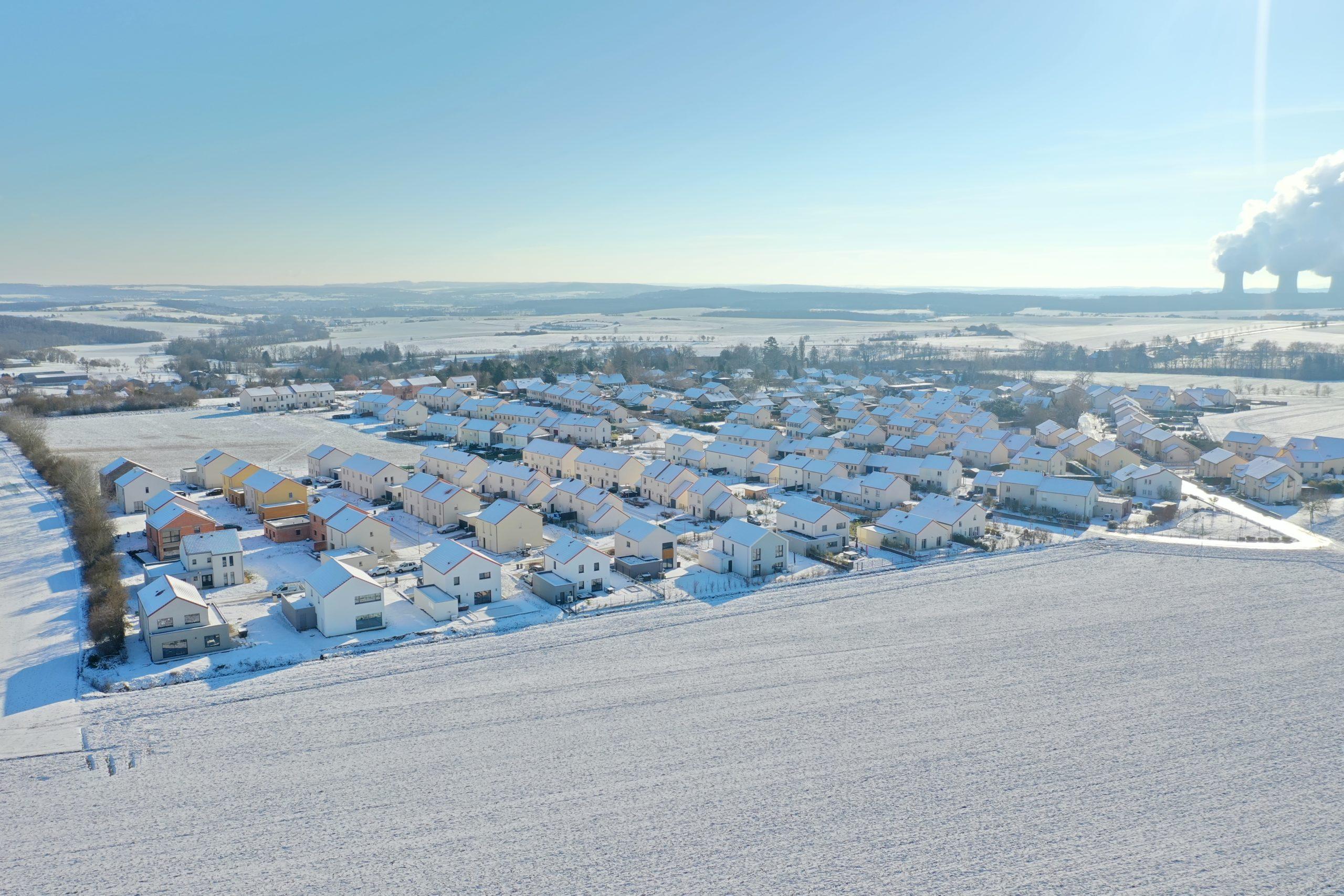 Rodemack sous la neige par BUZON PIerre-Henry